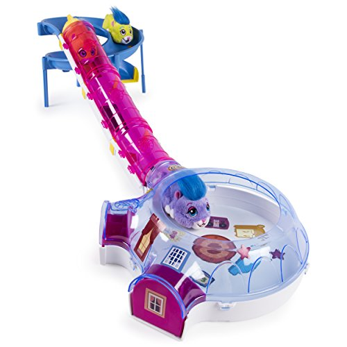 Go Go Pet Hamster (Zhu Zhu Pets – Hamster House Play Set with Slide and Tunnel)