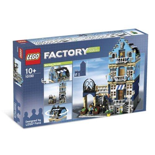 Amazon.com: LEGO Factory: Custom Design Your Own Model - Market ...