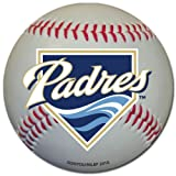 San Diego Padres Baseball Shaped Magnet Large MLB Team for Refrigerator Locker