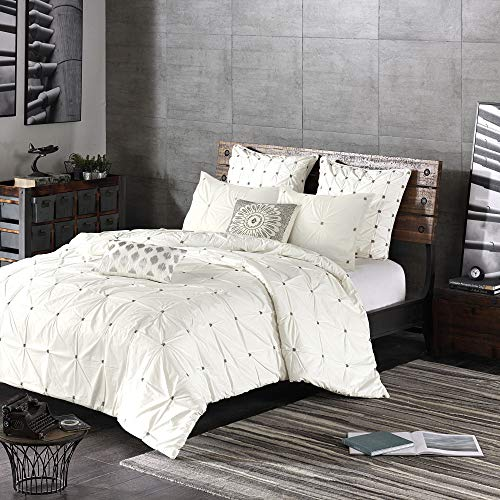 Ink+Ivy Masie Comforter Set, Full/Queen, Ivory
