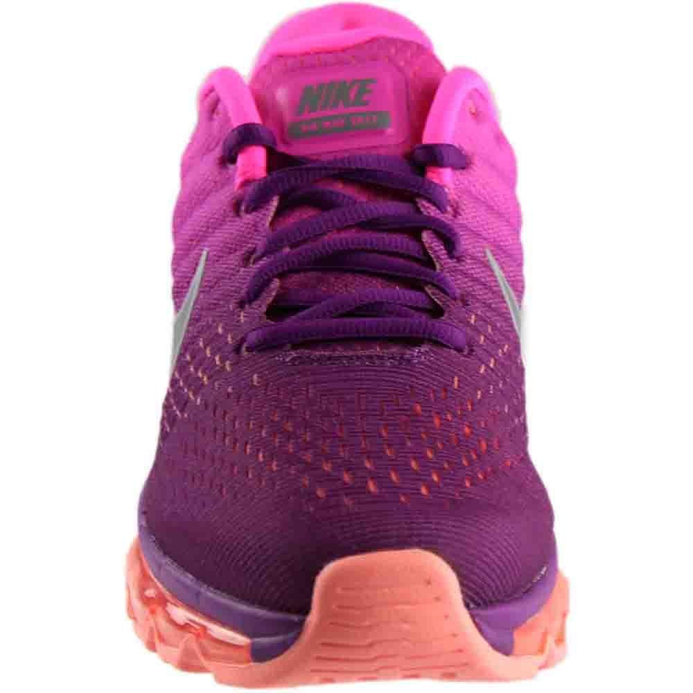 NIKE Air Max 2017 Women's Running Sneaker B01M63S3PW 12 B(M) US|Bright Grape/White-fire Pink-pink Blast