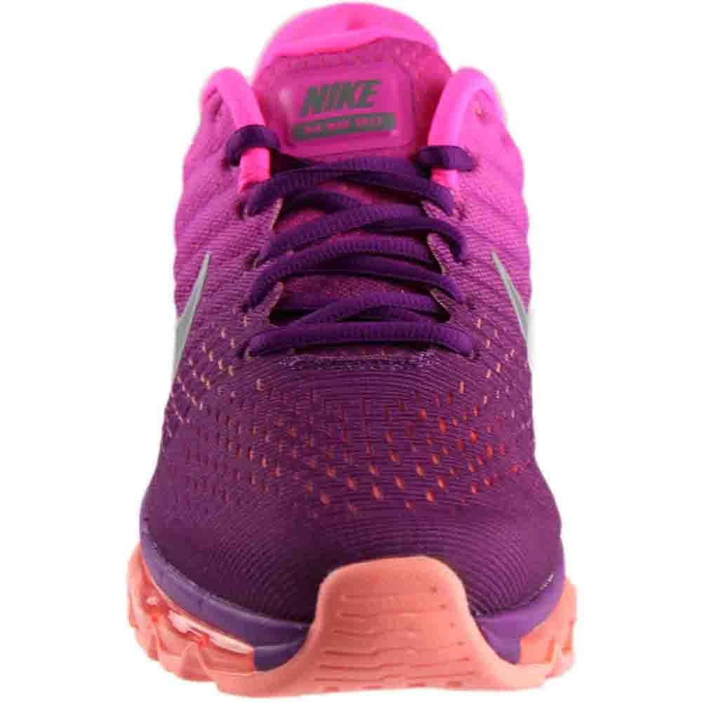 wholesale dealer 9ad12 765e6 Nike Women s WMNS Air Max 2017, Bright Grape White-FIRE Pink-Pink Blast,  5.5 US  Amazon.in  Shoes   Handbags