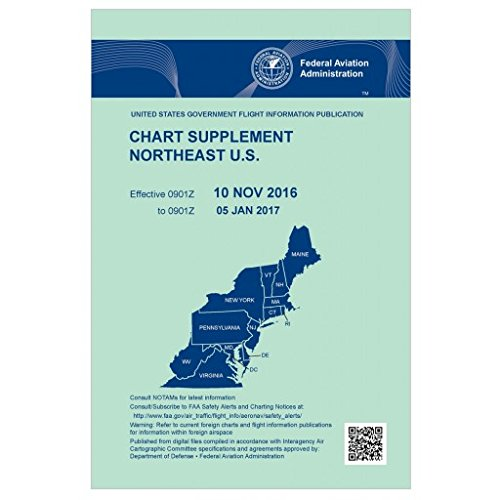 Used, FAA Chart Supplement Northeast (Always Current Edition) for sale  Delivered anywhere in USA