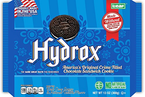 Sandwich Creme Cookies Case (Hydrox Cookies, Master Case of Six, 13 oz.)