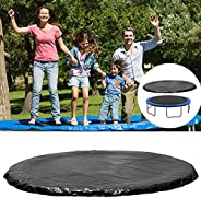 6ft 8ft10ft 12ft 13ft 14ft 15ft 16ft Round Waterproof Trampoline Cover Rain Snow Sun Shade Protection Cover