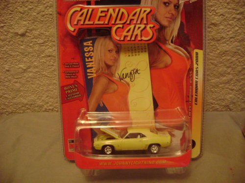 Johnny Lightning 08 Calendar Cars 1969 Chevy Camaro, used for sale  Delivered anywhere in USA