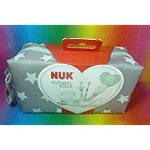 NUK WELCOME BAG SET OF 8 ITEMS PERFECT STARTER SET FOR NEWBORNS, MADE IN GERMANY,BRAND NEW