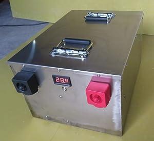 Lifepo4 100ah 200ah 300ah 400ah 24V Lithium ion Battery for Solar System/Motor Home/Boat/Golf Carts car battery (24V 300ah ×1pcs)