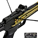 KingsArchery Crossbow Pistol Self Cocking 80 LBS