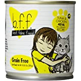 Best Feline Friend (B.F.F.) Grain-Free Cat Food by Weruva, Tuna Too Cool, 5.5-Ounce Can (Pack of 24)