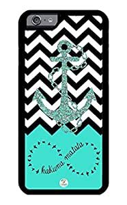 iZERCASE iPhone 6 Case Infinity Anchor Chevron RUBBER CASE - Fits iPhone 6 T-Mobile, Verizon, AT&T, Sprint and International