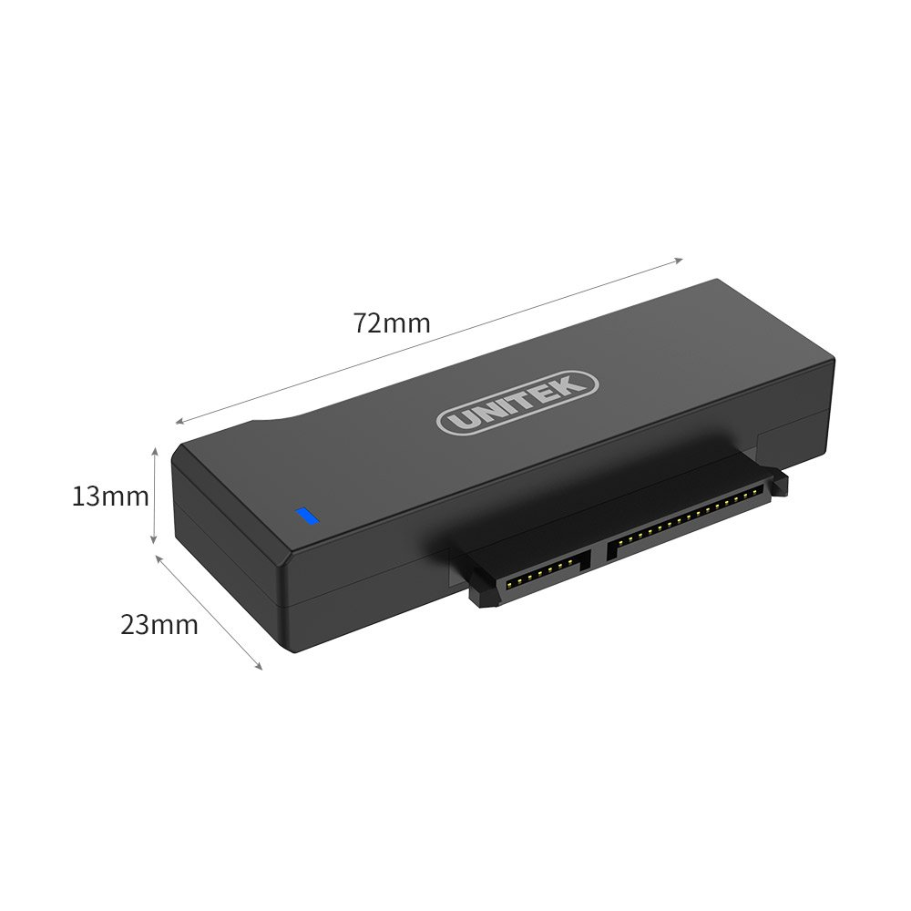 Unitek USB to SATA Adapter, USB 3.0 to SATA III Adapter Cable universal 2.5/3.5 HDD/SSD Hard Drive Disk SATA Optical Drive, Include 12V/2A Power Adapter - [Upgraded Version] by Unitek (Image #7)