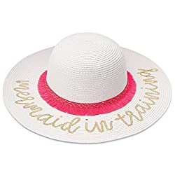White Sequin Mermaid Hat
