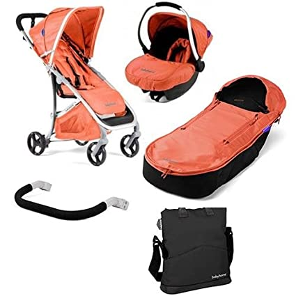 Duo Emotion Babyhome Coral + Bolsa, Manguito bumperbar y ...