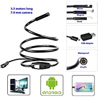 We R Mobile Android Endoscope Waterproof Snake Borescope USB Inspection Camera