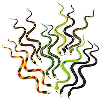 Amazon Com Kicko 14 Inch Assorted Big Rainforest Snakes
