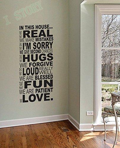 Amazon.com: ebay hot selling family wall quotes \