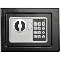 Stalwart 65-E17-B Electronic Deluxe Digital Steel Safe (Black)