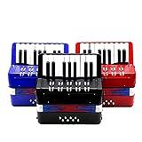Andoer 17-Key 8 Bass Mini Small Accordion Kids