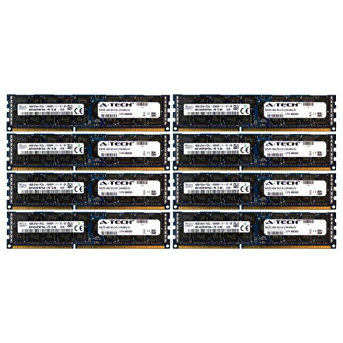 A-Tech Hynix 128GB Kit 8x 16GB PC3-12800 1.35V For HP Pro...