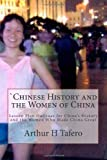 `Chinese History and the Women of China, Arthur Tafero, 1482314355