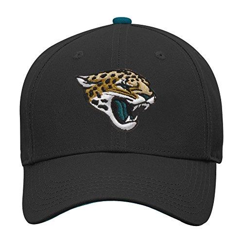 Outerstuff NFL NFL Jacksonville Jaguars Youth Boys Basic Structured Adjustable Hat Black, Youth One Size