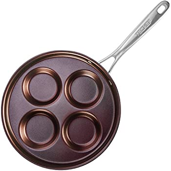 Orange Pan Of Library Mall And Dane >> Amazon Com Yorizle Egg Pan Pancake Pan Egg Fry Pan Kitchen Cooker