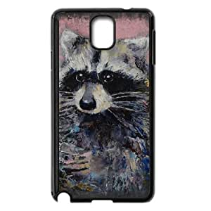 Samsung Galaxy Note 3 Cell Phone Case Black RACCOON AFC Heavy Duty Cell Phone Case