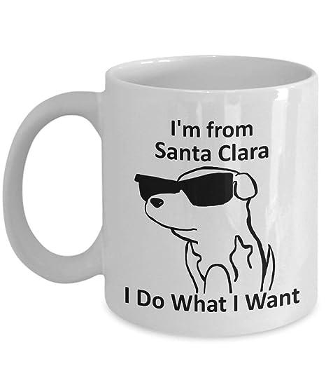 Santa Clara Pride Coffee Mug 11oz White Gift Cup