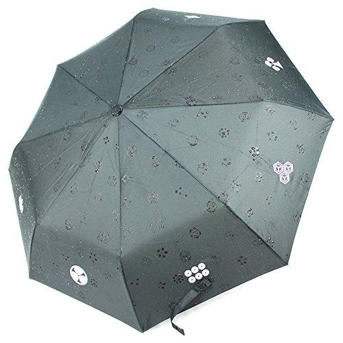 (NEW Japanese Samurai Folding Umbrella Rain Kamon Sword Katana From Japan )