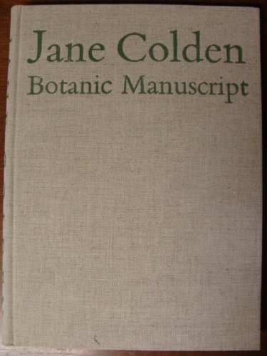 Botanic Manuscript of Jane Colden, 1724-1766