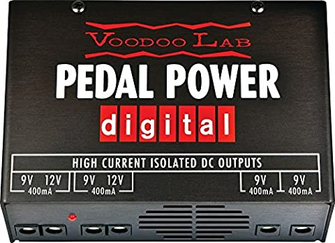 Voodoo Lab Pedal Power Digital Isolated Power Supply - Voodoo Labs Cables