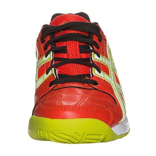 Asics Gel-squad Gs - Zapatillas de deporte interior Unisex adulto Rojo