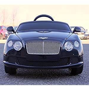 2015-Licensed-Bentley-Continental-Gt-Kidsboygirl-Ride-on-Toycar-with-Remote-Control-black