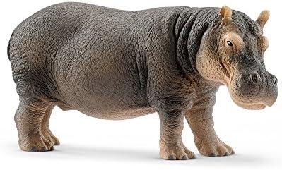 [해외]シュライヒ 와일드 라이프 마 피겨 14814 / Schleich Wildlife Hippo Figure 14814