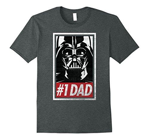 Mens Star Wars Darth Vader #1 Dad Propaganda Graphic T-Shirt C1 XL Dark Heather