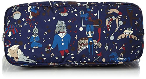 piero guidi 210153088, Borsa Tote Donna, 31x28x14 cm (W x H x L) Multicolore (Blu)