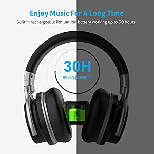 Meidong E7C Active Noise Cancelling Headphone...