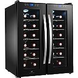 Continental edison cecwc24z2 - cave a vin multi-températures 24 bouteilles
