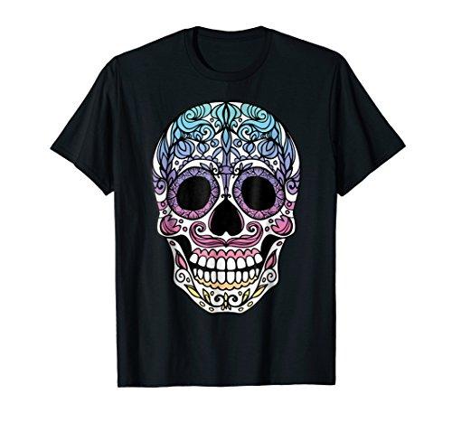 (Day Of The Dead Muertos Sugar Skull Halloween Costume)