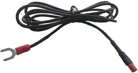 Cable de conexión a tierra para tocadiscos negro para Technics (SL ...