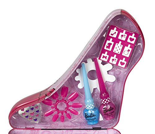 Barbie Total Fashionista Nail Art Tin