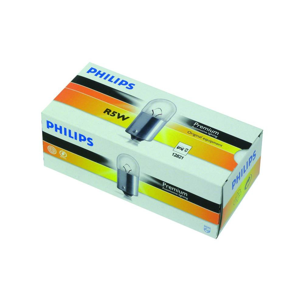 Philips 0730508 Ampoule Sp/éciale 12821CP R5W 12 V10 Pi/èces