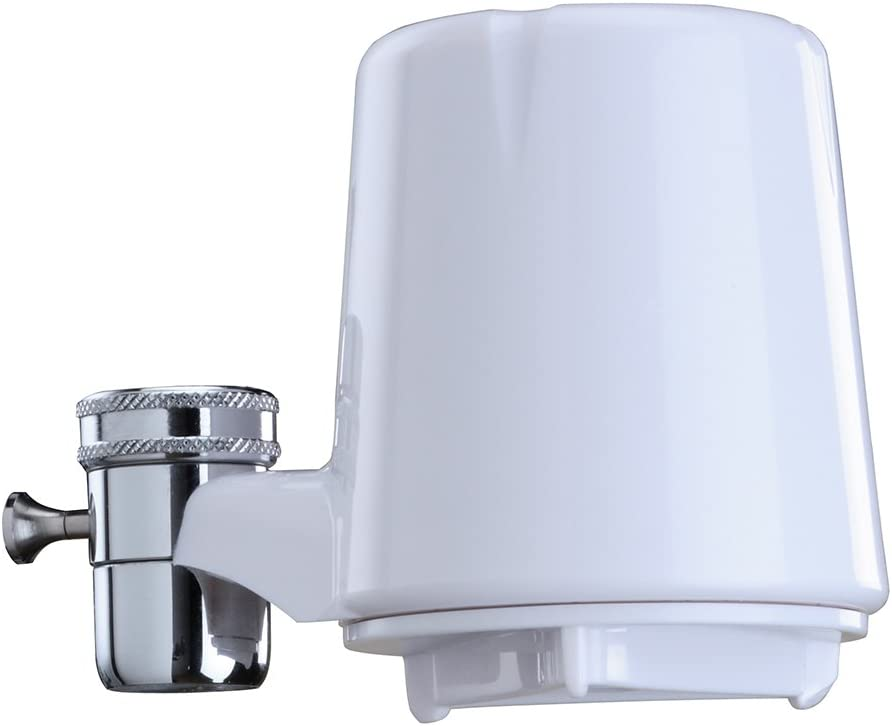 Culligan FM-15A Faucet Mount Filter - White finish