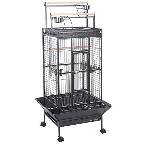 T'pol Costume (New Parrot Bird Finch Cage Cockatiel Parakeet Ladder Iron House Pet Supply With)