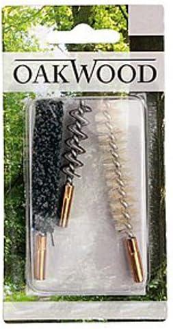 8mm Oakwood Reinigungsb/ürsten Kal 3tlg