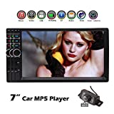 Car MP5 Player EinCar Deck Stereo 7 inch Double din Multi Video 2Din Autoradio Audio Headunit Automotive Vehicle Unit Support USB SD Bluetooth + Free Backup Camera!!!
