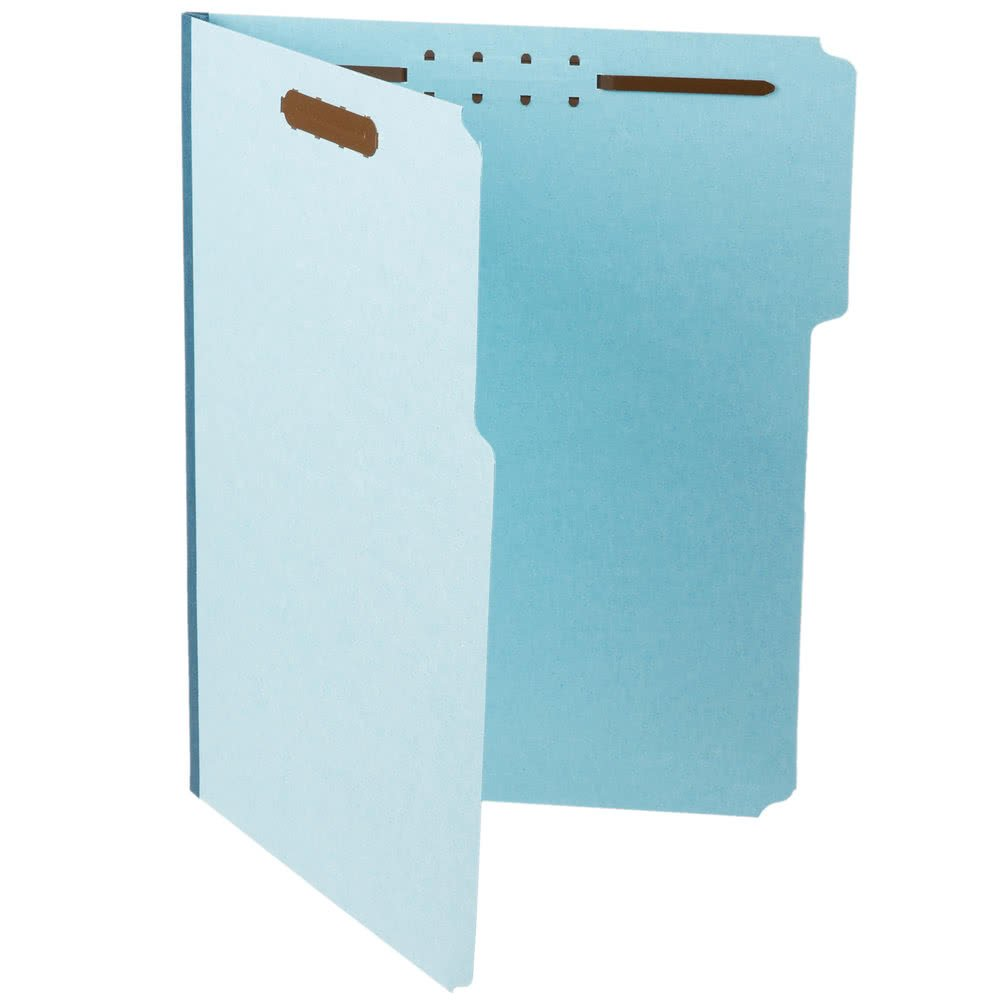 TableTop King PFX FP313 Legal Size Fastener Folder with 2 Fasteners - 25/Box