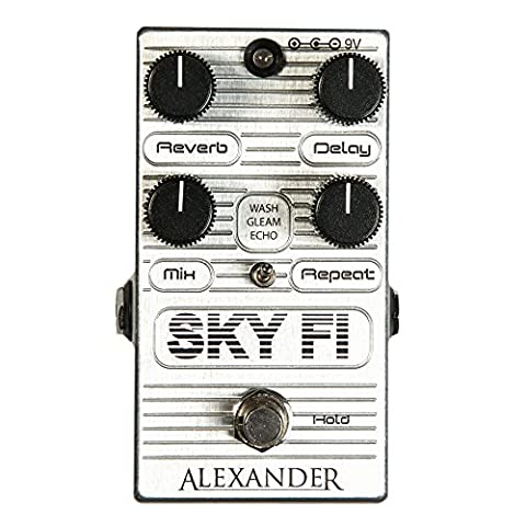 Alexander Pedals Sky FI Delay and Reverb Pedal (Alexander Delay)