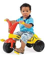 Triciclo Tigrão Xalingo Amarelo e Vermelho